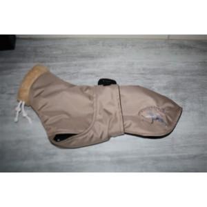 manteau doudoune petit lévrier italien,petit whippet